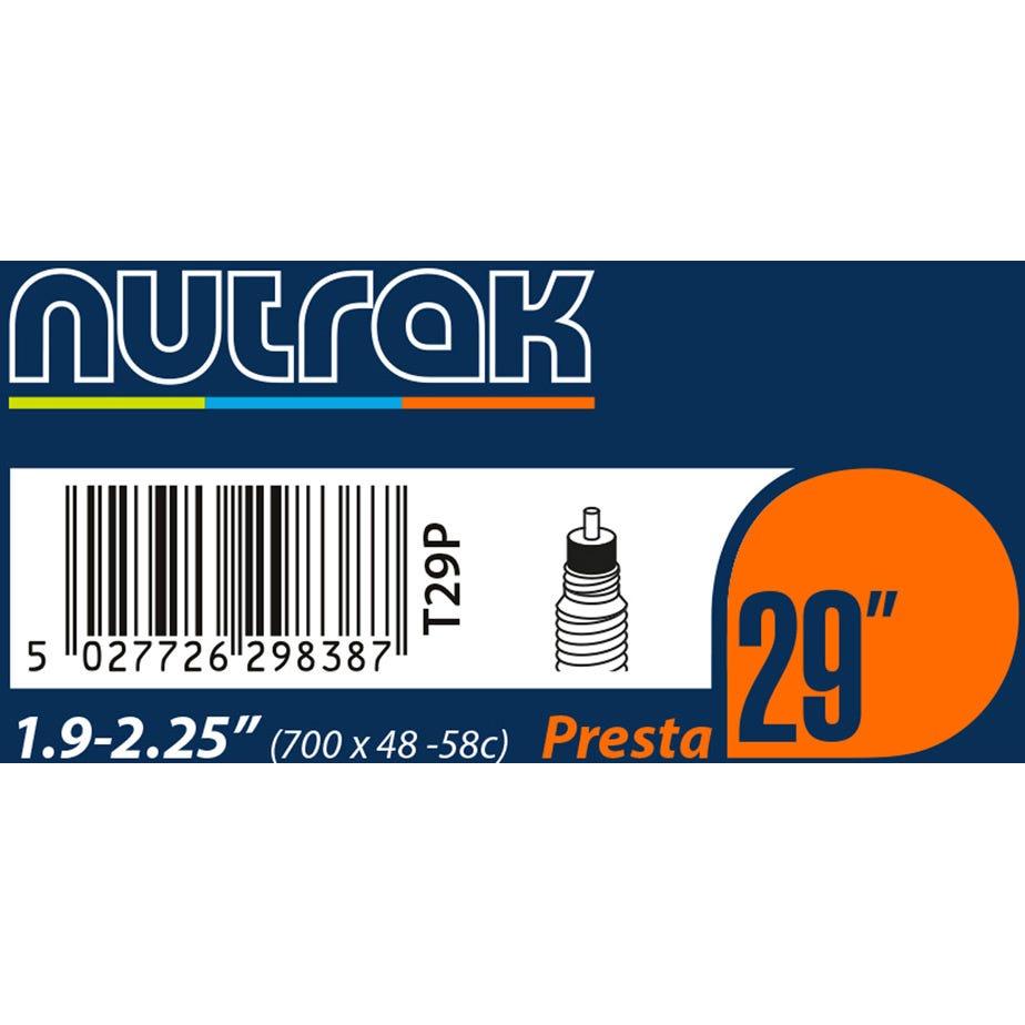 Nutrak 29 X 1.9 - 2.2 inch Presta inner tube