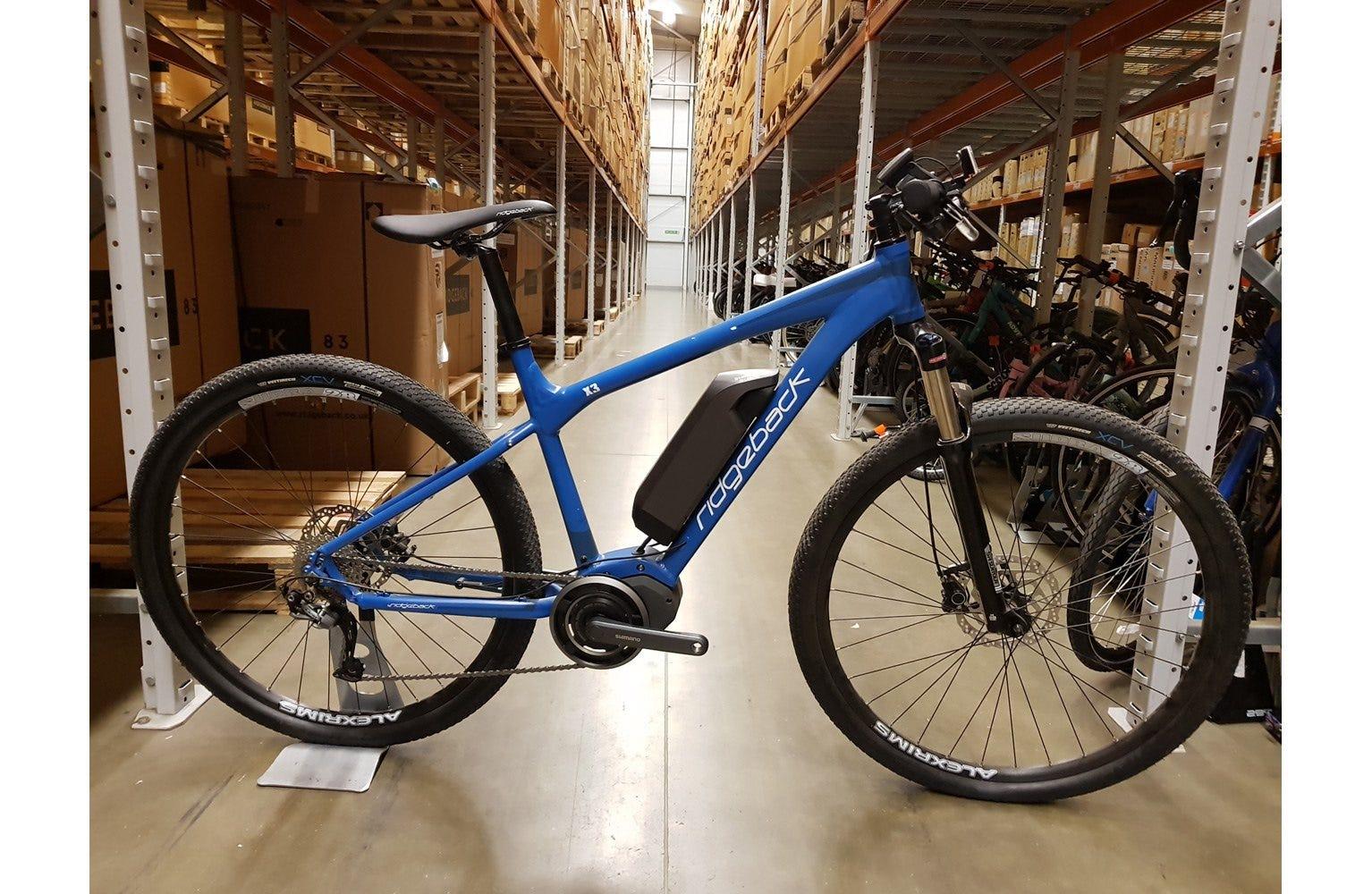 Ridgeback X3 17 inch Ex Display Bike