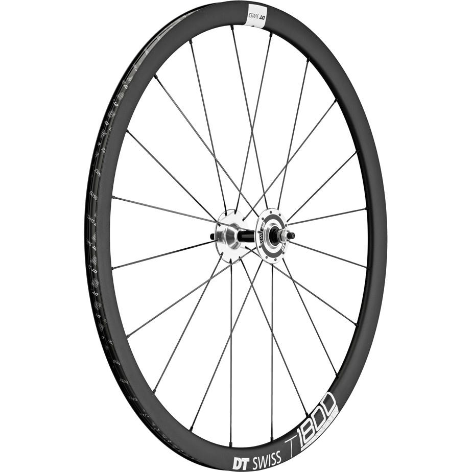 DT Swiss T 1800 track wheel, clincher 32 mm, front