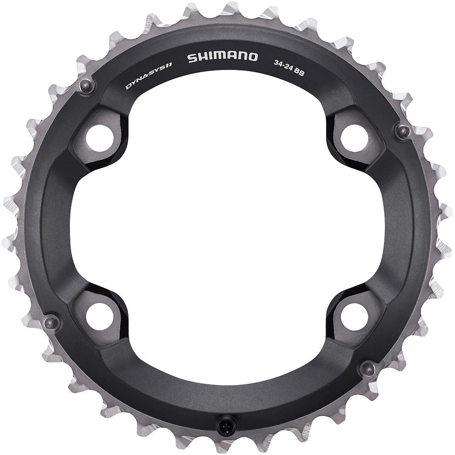 Shimano Spares FC-M7000-2 Chainring 34T-BB for 34-24T