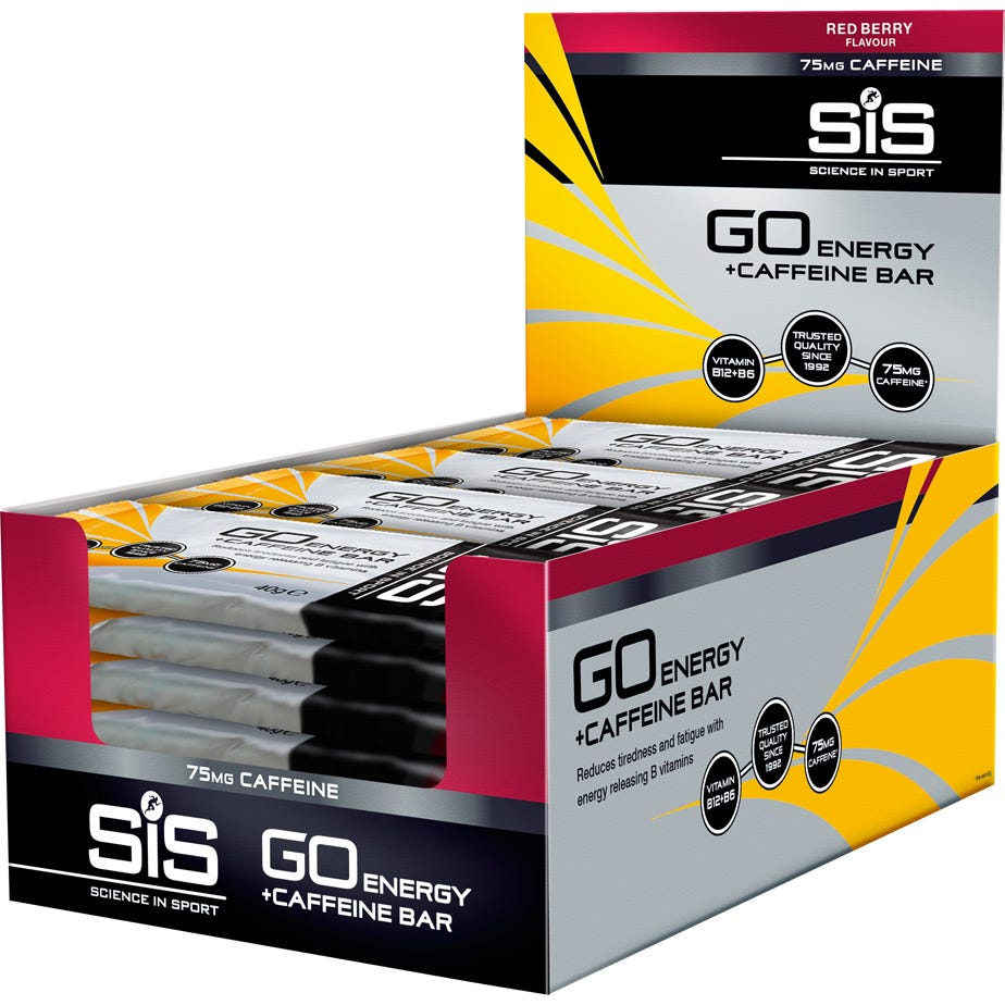 Science In Sport GO Energy Bar with Caffeine