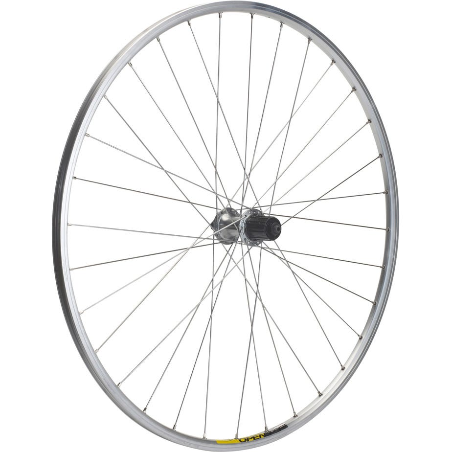 M Part Wheels Shimano R400 / Mavic Open Elite silver / DT Swiss P/G rear wheel