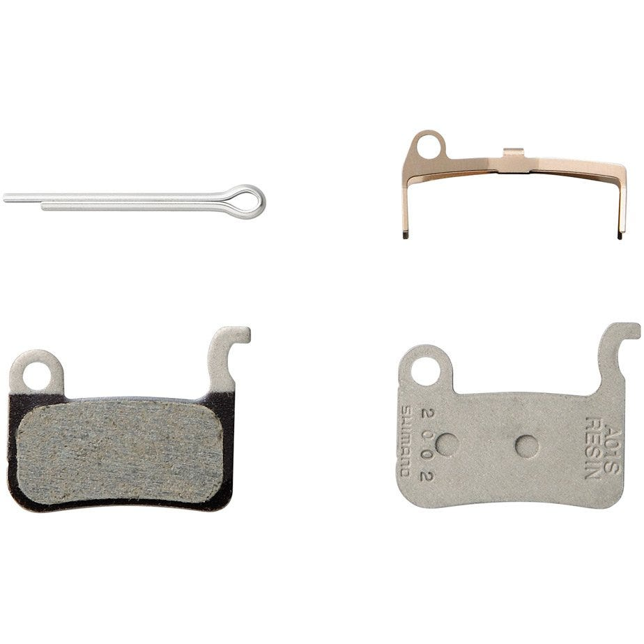 Shimano Spares BR-M775 resin pads A01S and spring with split pin