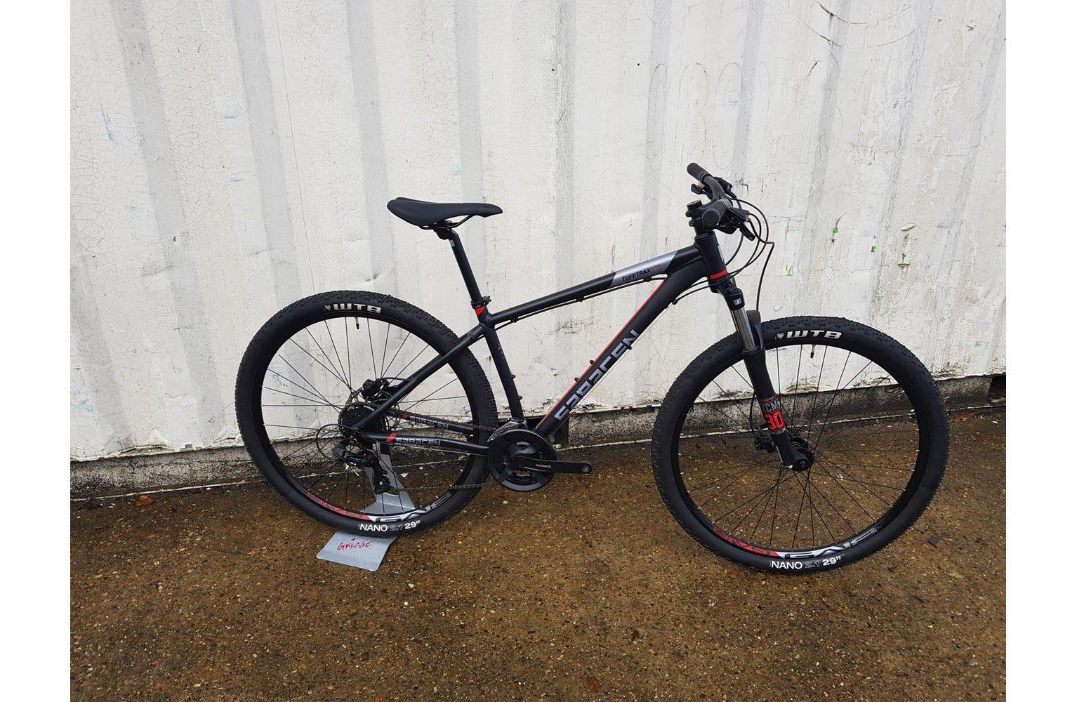 Saracen TuffTrax Comp Hydro Disc 17 inch 29er  Ex Brand Sample Bike