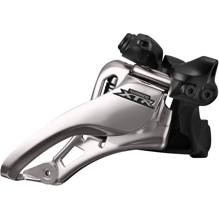 Shimano XTR FD-M9020-L XTR double front derailleur, side swing, side pull, low clamp