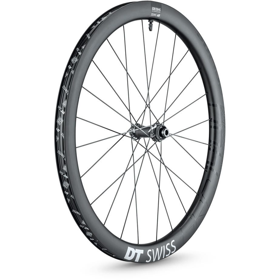 DT Swiss GRC 1400 SPLINE disc brake wheel, carbon clincher 42 x 24 mm, 700c front