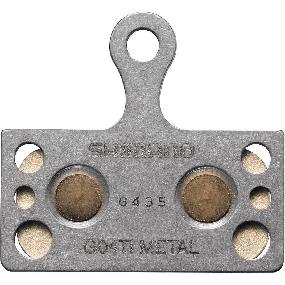 Shimano Spares G04Ti disc brake pads, Titanium backed,  metal sintered