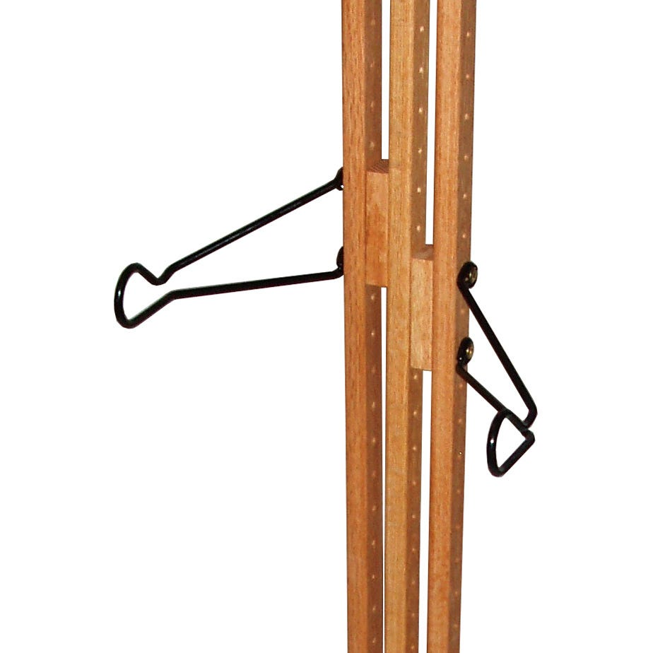 Gear Up Extra bike kit (for Floor-to-Ceiling and Freestanding OakRaks) - Golden Pecan