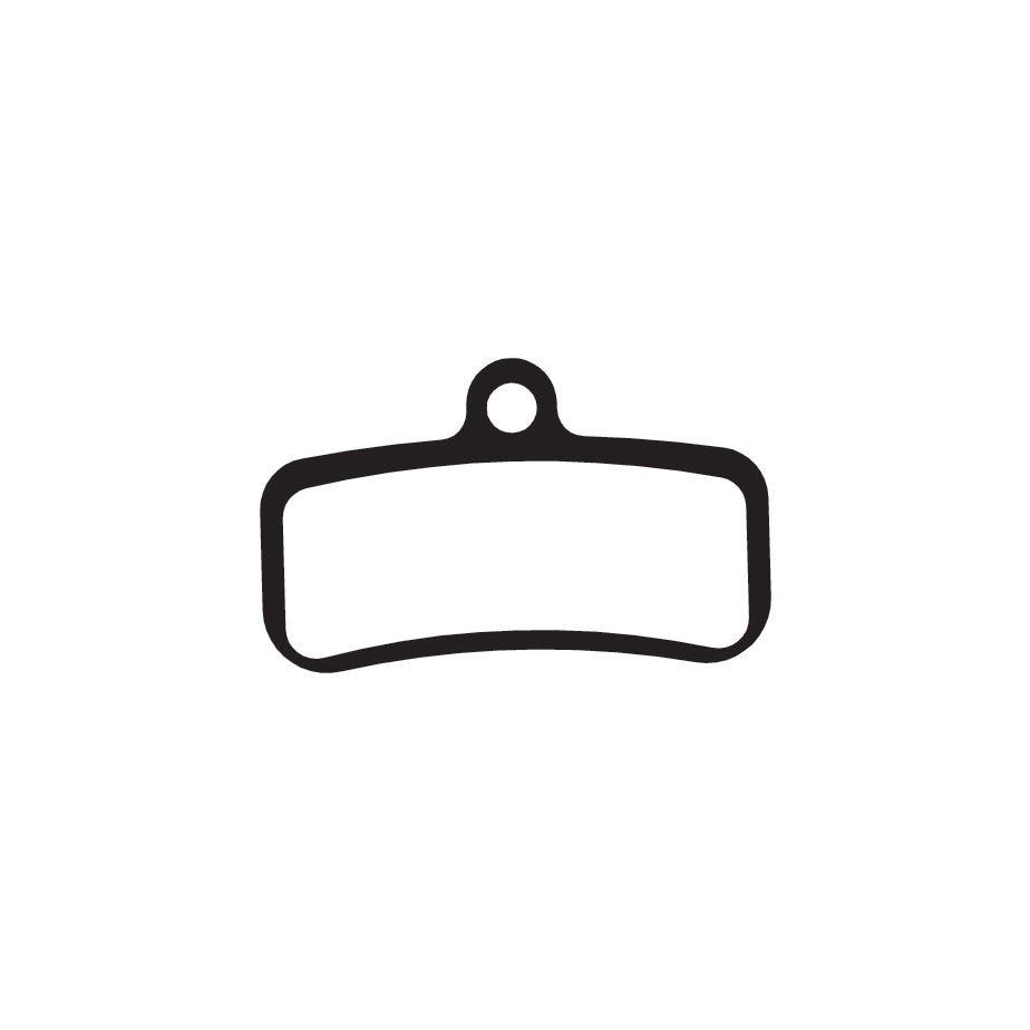 Aztec Organic disc brake pads for Shimano Saint