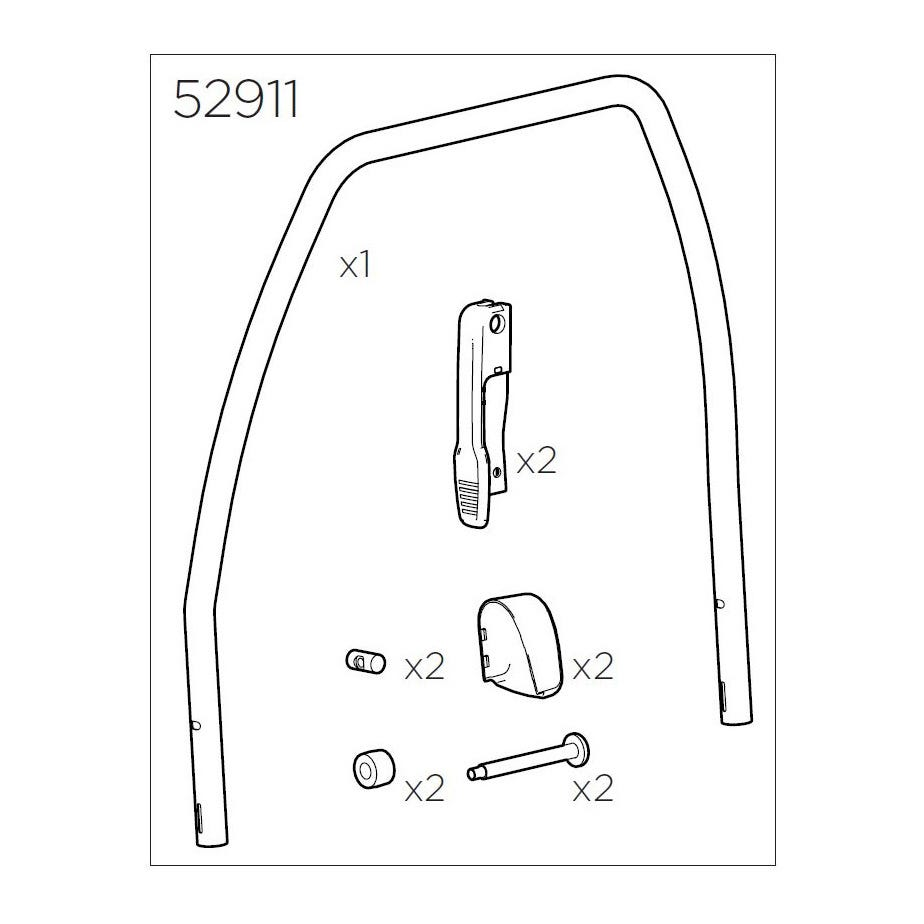 Thule 52911 Bike frame kit