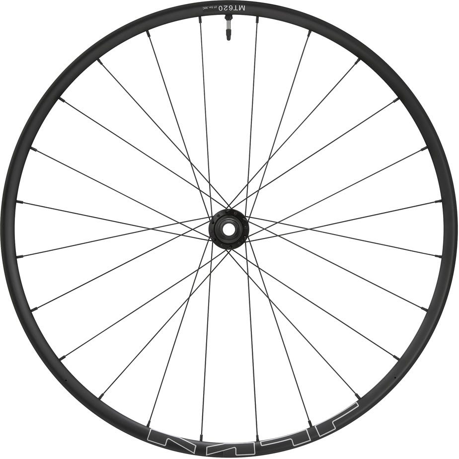 Shimano Wheels WH-MT620 tubeless compatible 27.5 in, 15 x 110 mm axle, front, black