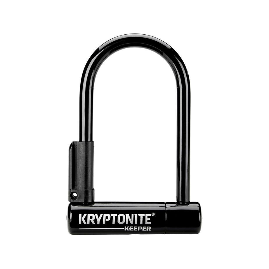 Kryptonite Keeper 12 Mini-6 W/Bracket Sold Secure Silver