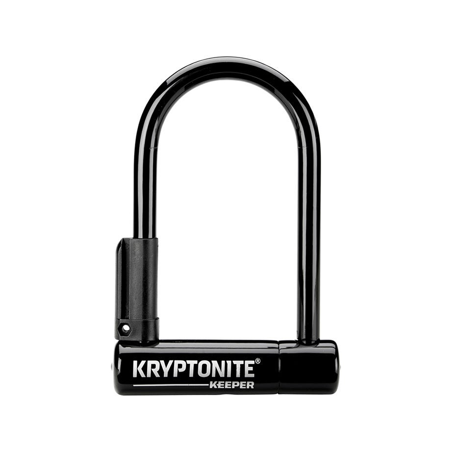 Kryptonite Keeper 12 Mini-6 W/Bracket Sold Secure Silver