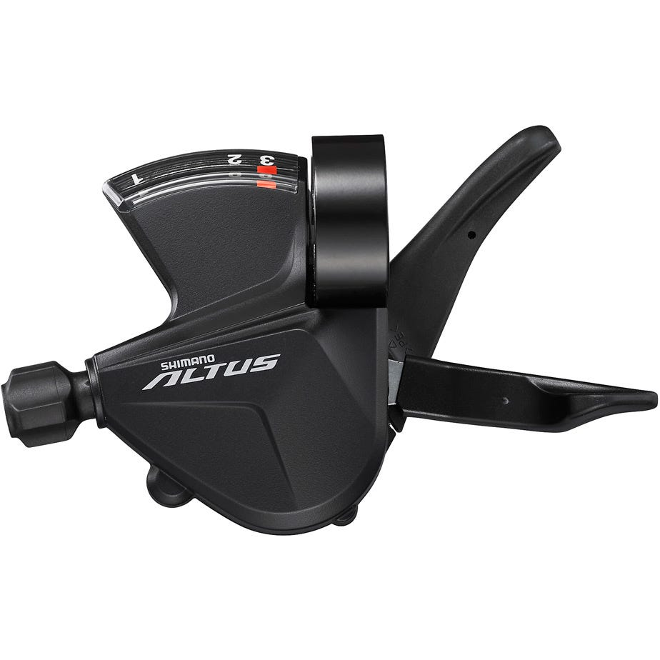 Shimano Altus SL-M2010-L Altus shift lever, band on, 3-speed, left hand
