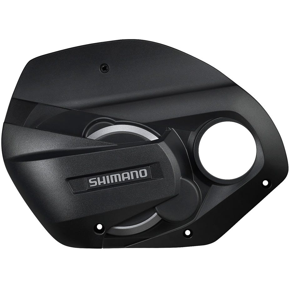 Shimano STEPS SM-DUE70-B STEPS drive unit cover and screws, large mount bolt cover B