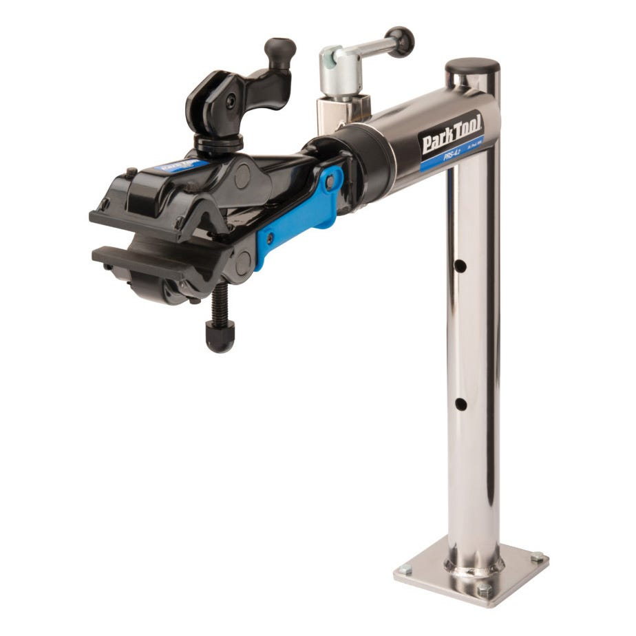 Park Tool PRS-4.2-2 - Deluxe Bench Mount Repair Stand With 100-3D Micro Adjust Clamp