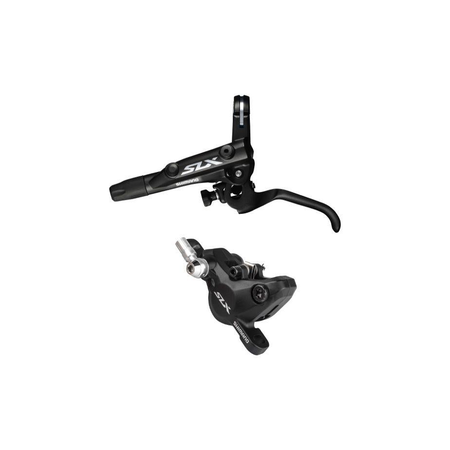 Shimano SLX BR-M7000 SLX bled I-spec-II ready brake lever/Post mount calliper - rear