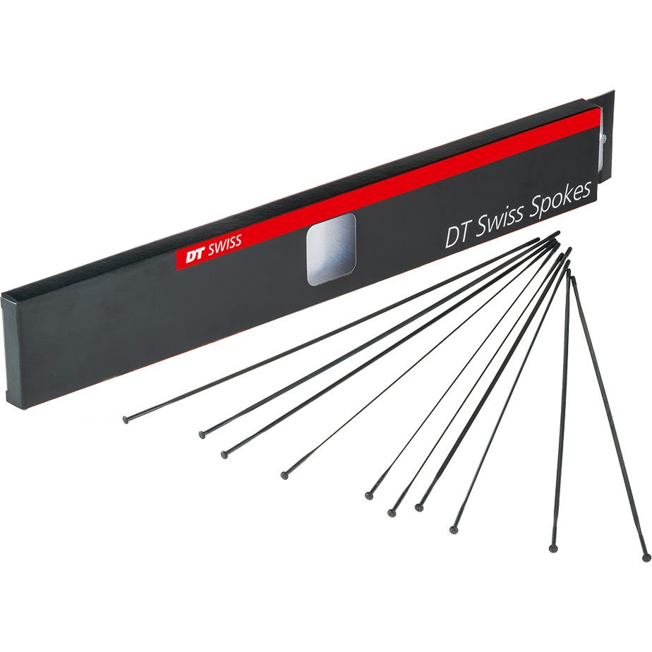 DT Swiss Aero Comp Straight Pull Spokes 14 g = 2 mm box 20, black