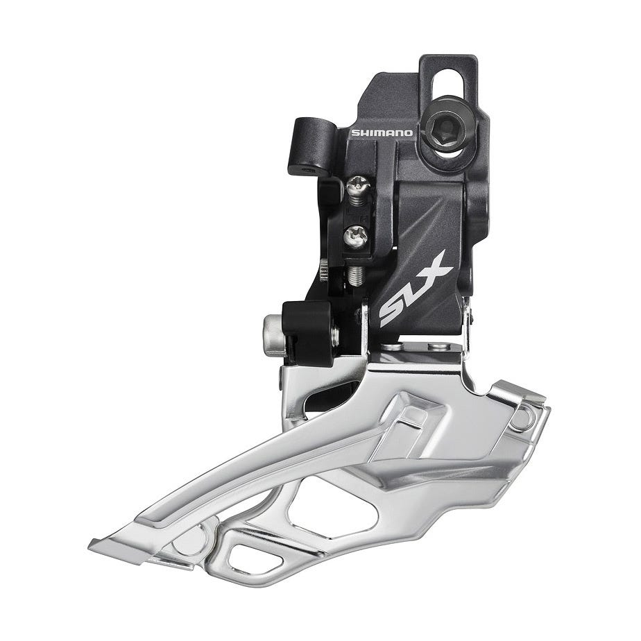 Shimano SLX FD-M676 SLX 10-speed double front derailleur, top-pull, direct-fit