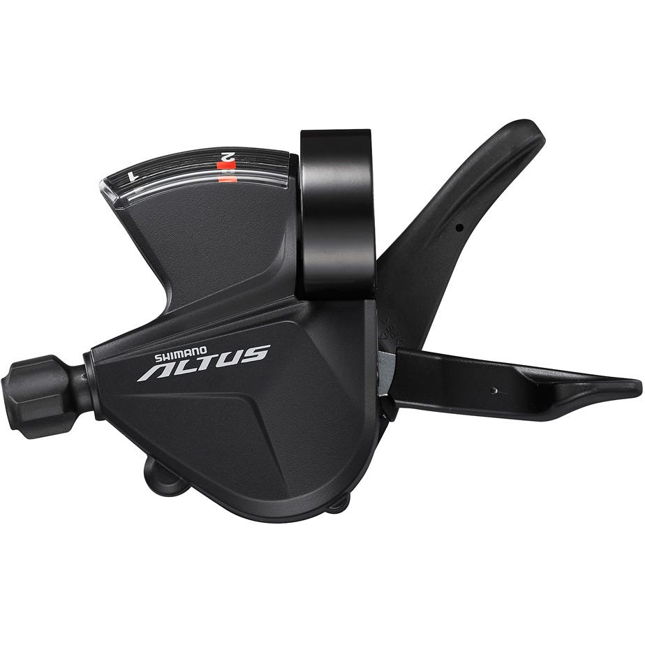 Shimano Altus SL-M2010-2L Altus shift lever, band on, 2-speed, left hand