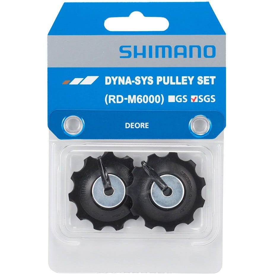 Shimano Spares Deore RD-M6000 tension and guide pulley set, SGS