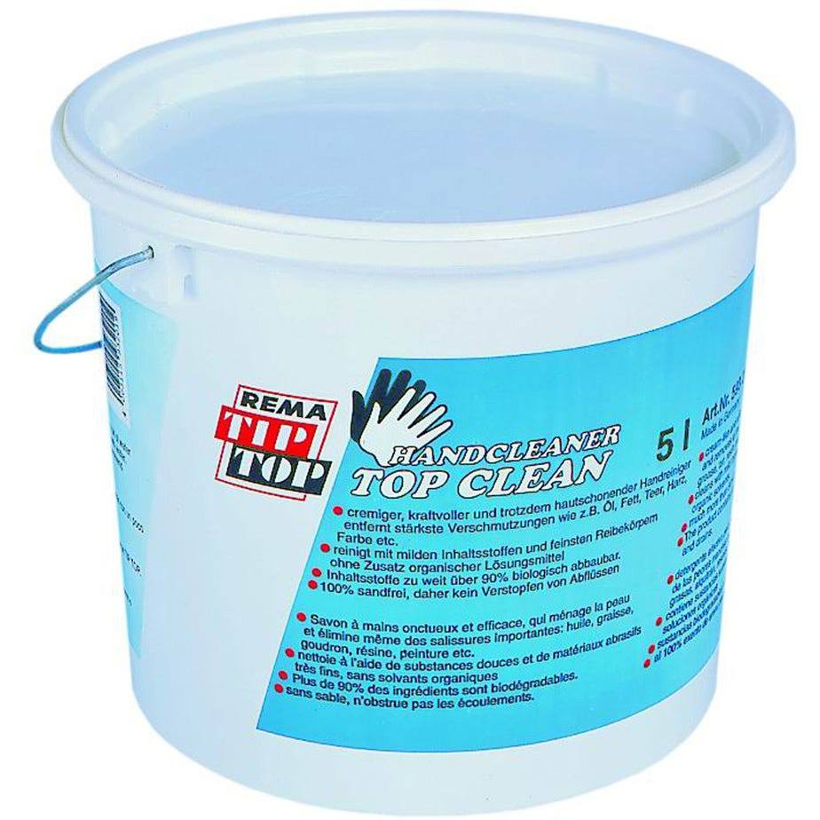 Rema Tip Top Top Clean Hand Cleaner 5 Litre Tub