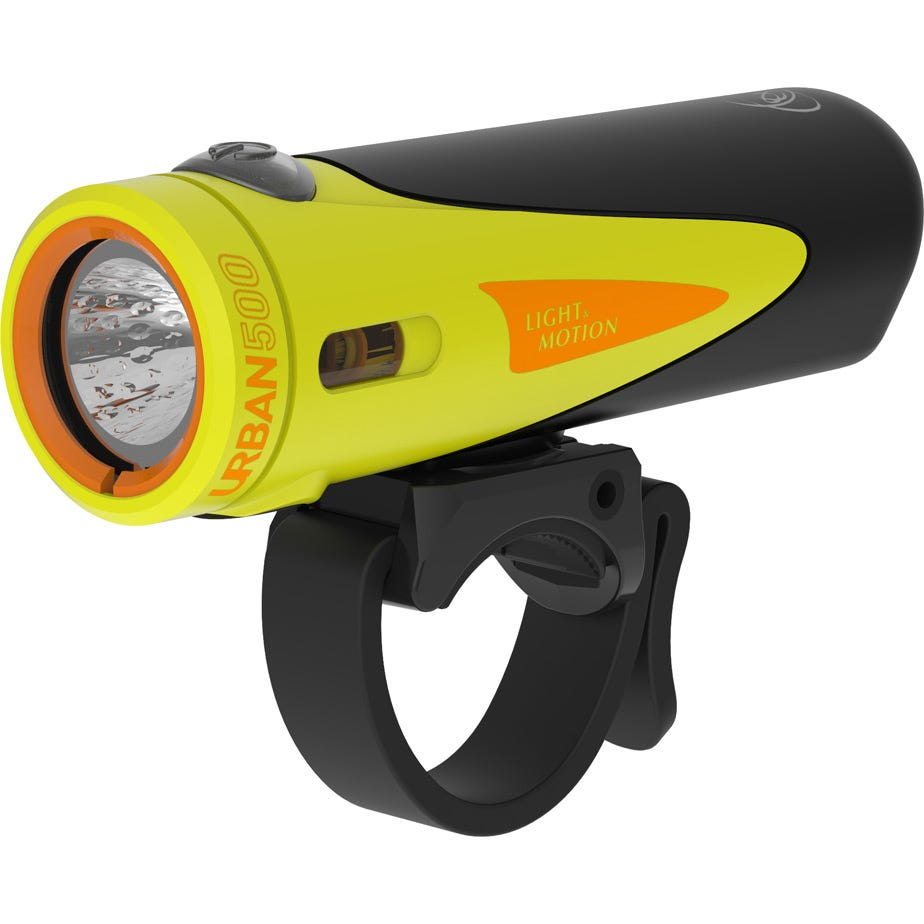 Light and Motion Urban 500 - Citraveza (Neon/Black) light system