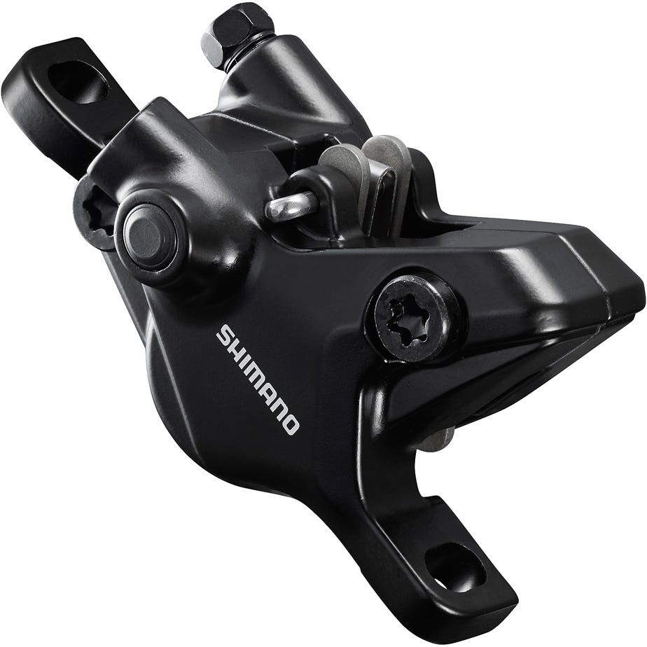 Shimano Deore BR-MT410 Deore 2-pot calliper, post mount, without adapters, front or rear