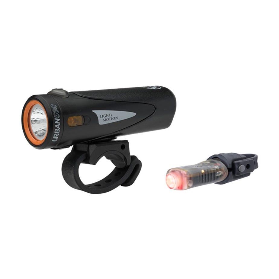 Light and Motion Urban 500 Onyx + Vya 50 light twinpack