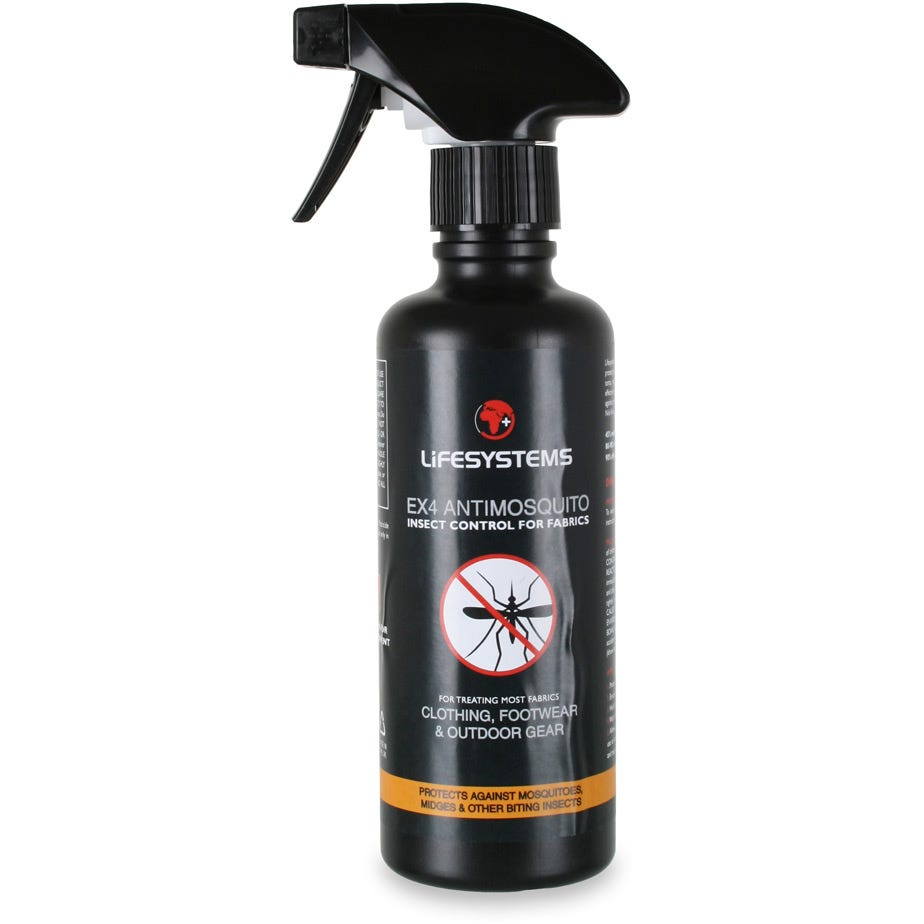 Lifesystems EX4 AntiMosquito for Fabrics - 350ml