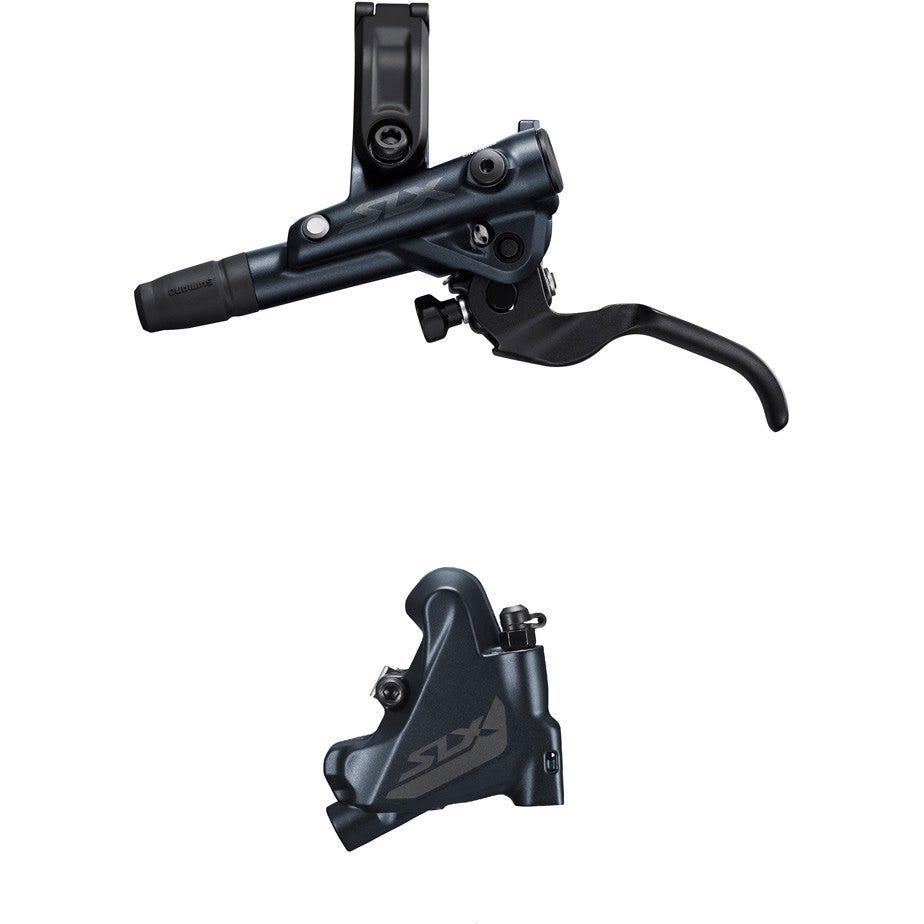 Shimano SLX BR-M7110/BL-M7100 SLX bled brake lever/flat mount calliper, rear left