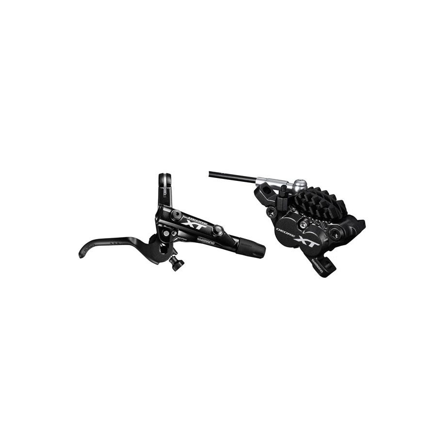 Shimano Deore XT BR-M8020 XT bled I-spec-II compatible brake lever and calliper