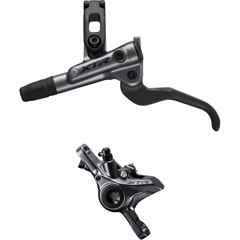 Shimano XTR BR-M9100 XTR bled I-spec-EV ready brake lever/Post mount calliper