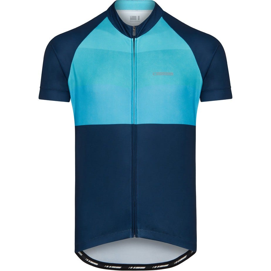 Madison Peloton men's short sleeve jersey, blocks