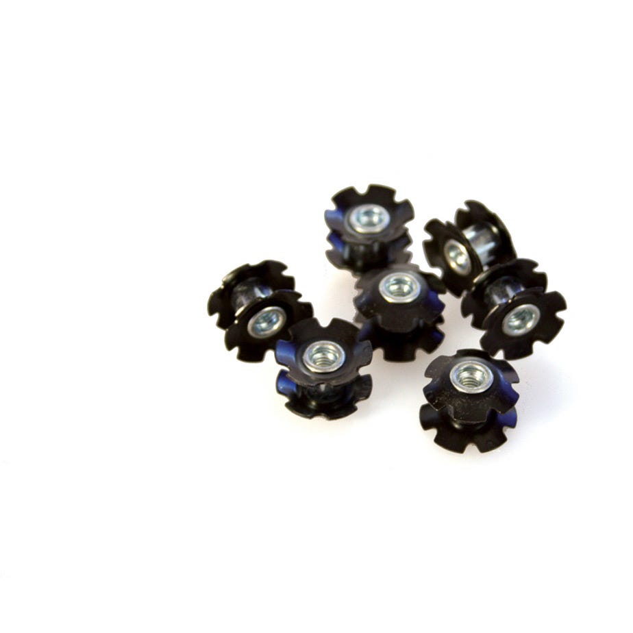 M Part 1-1/8 inch Star Nuts 25.4 x 10 Pack Refill