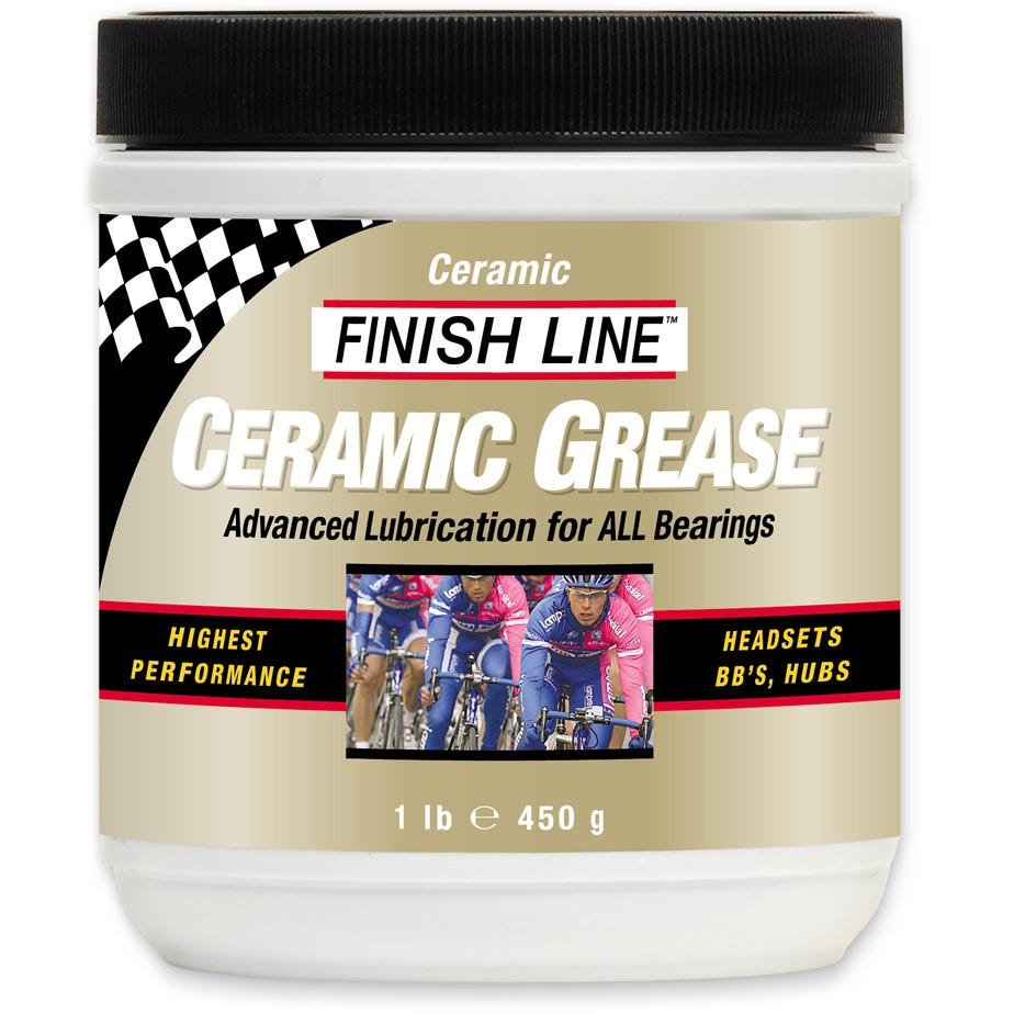 Finish Line Ceramic Grease Tub - 1 lb / 455 gram