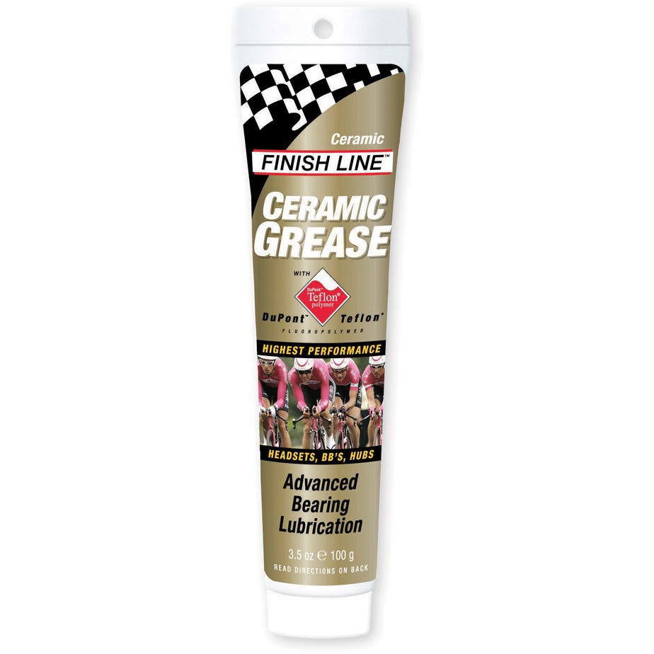 Finish Line Ceramic Grease Tube - 3.5 oz / 100 ml