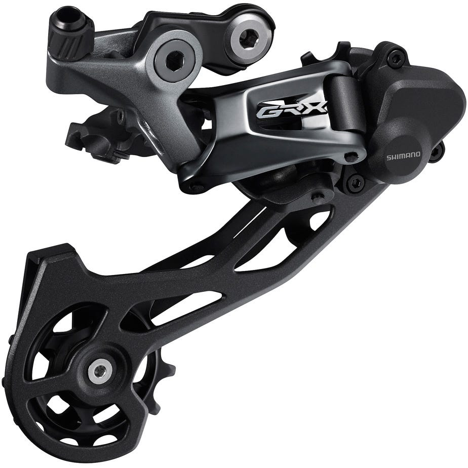 Shimano GRX RD-RX810 GRX 11-speed rear derailleur, Shadow+, for double