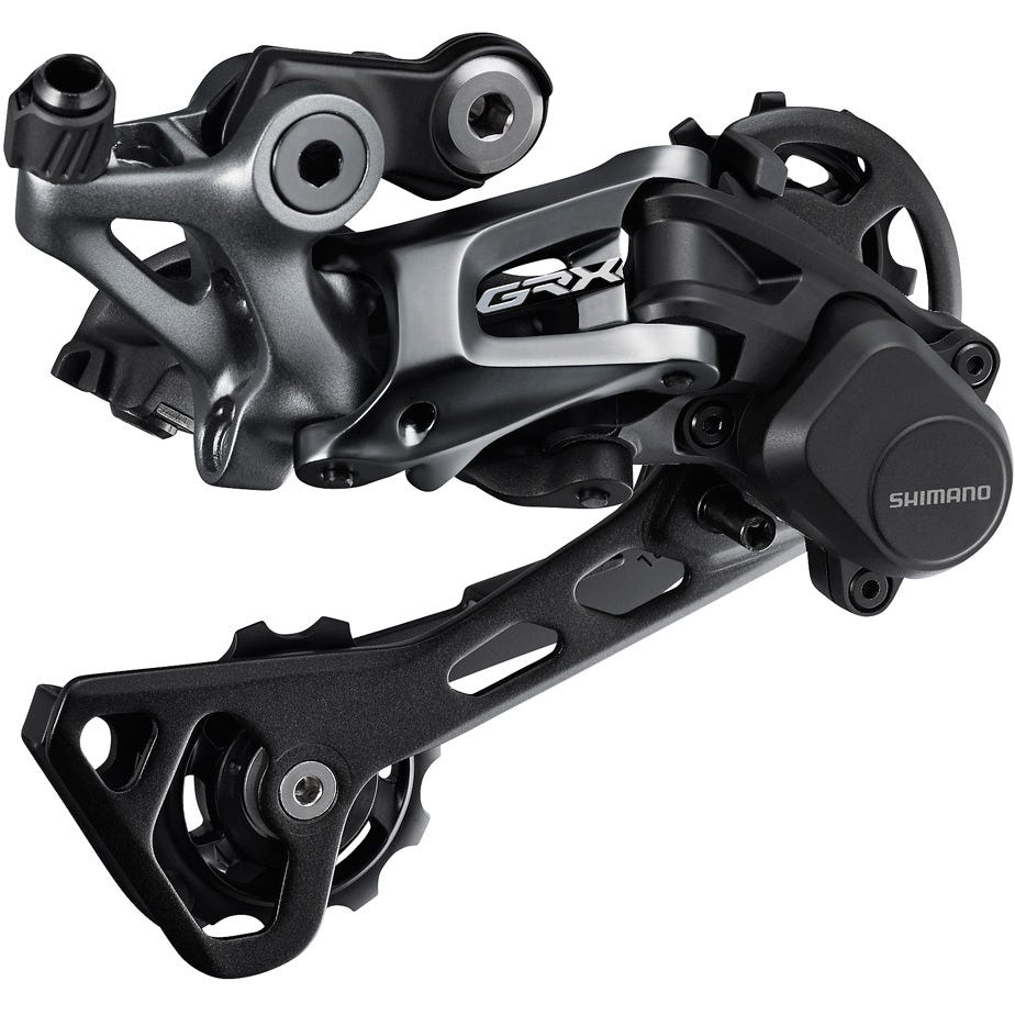 Shimano GRX RD-RX812 GRX 11-speed rear derailleur, Shadow+, for single