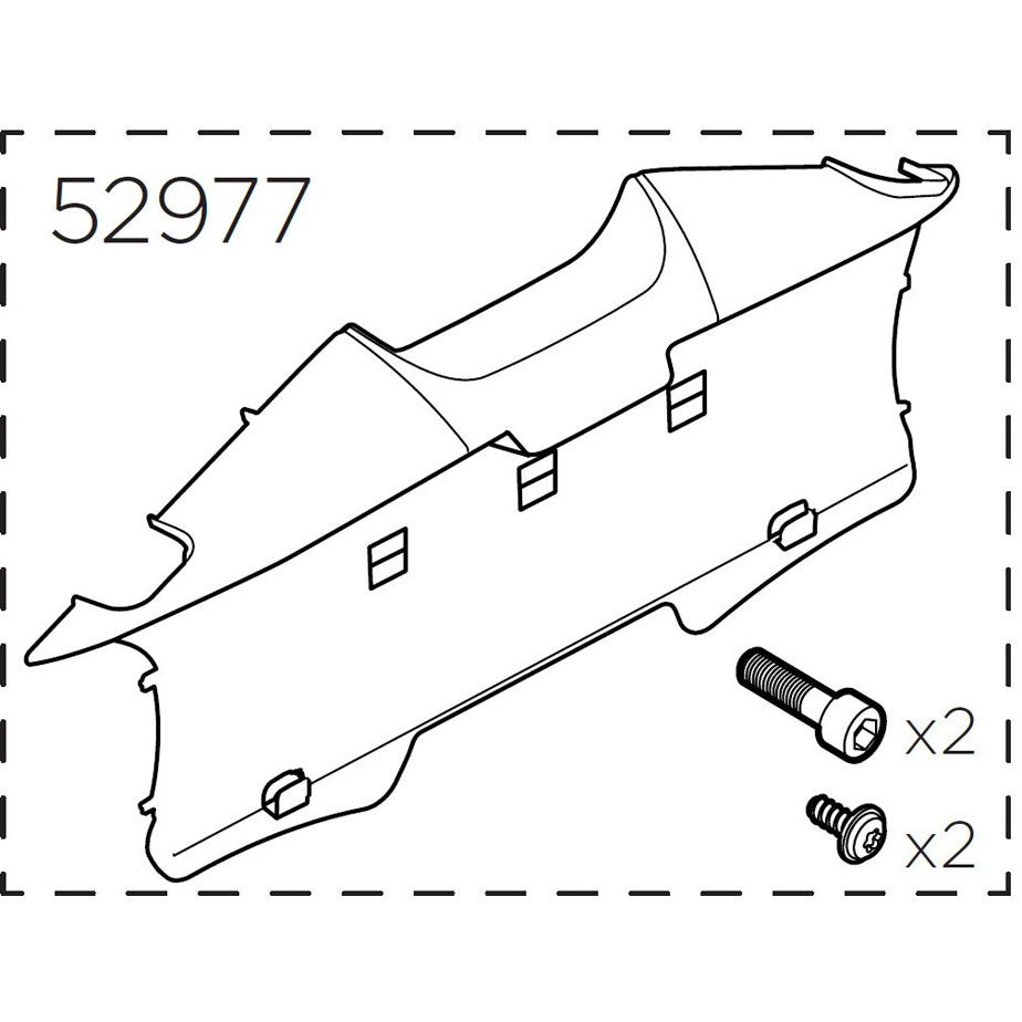 Thule 52977 Number plate holder