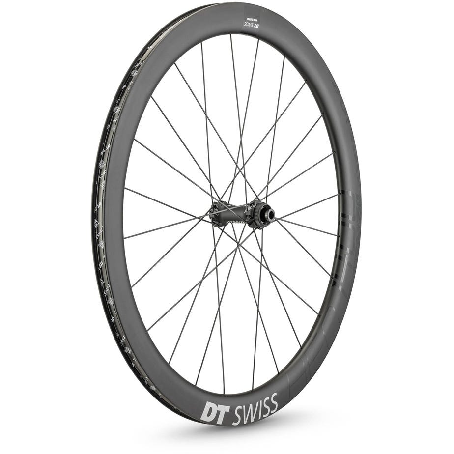 DT Swiss HEC 1400 HYBRID disc brake wheel, 47 x 19 mm rim, 110 x 12 mm axle, front