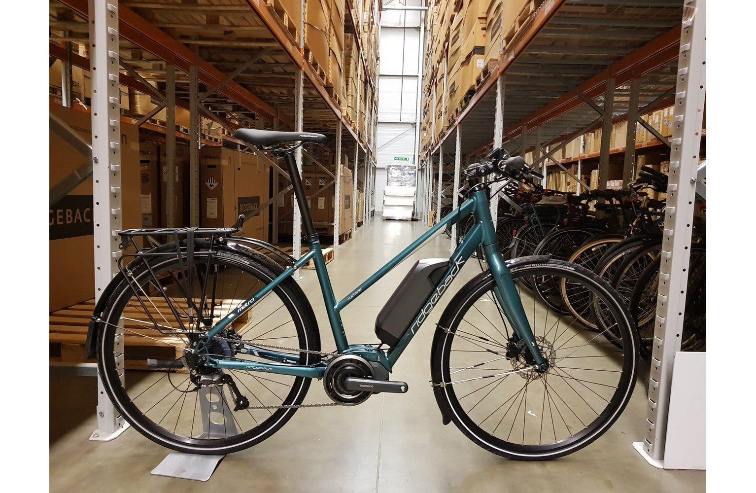 Ridgeback 2018  Cyclone Open Frame Large Bike sample (used)