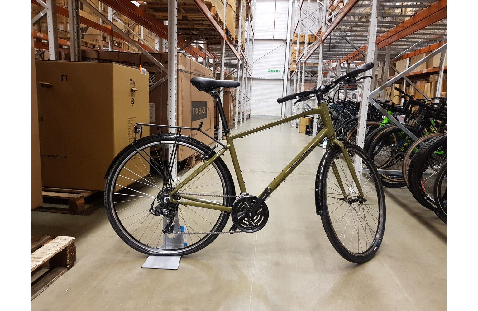 "Ridgeback 2020  Speed 19"" Bike sample (used)"