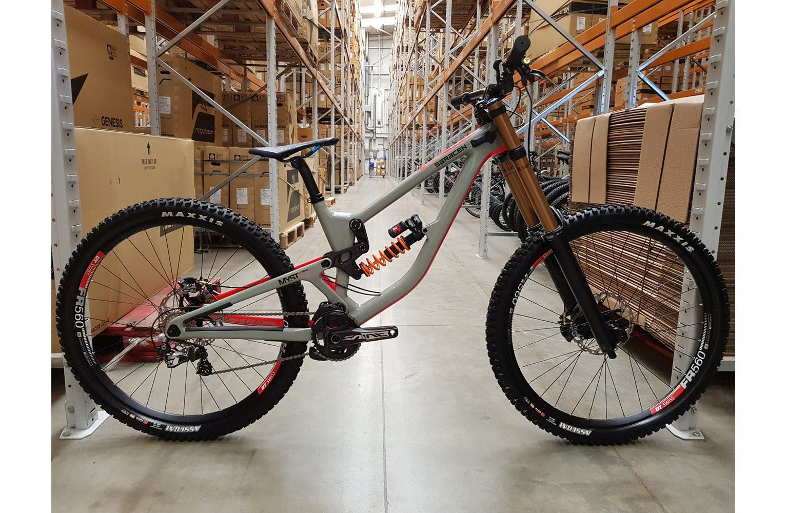 Saracen 2020  Myst Team 29 MD Bike sample (used)