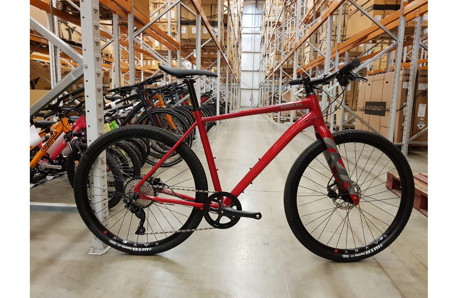 Saracen 2019  Levarg FB MD Bike sample (used)
