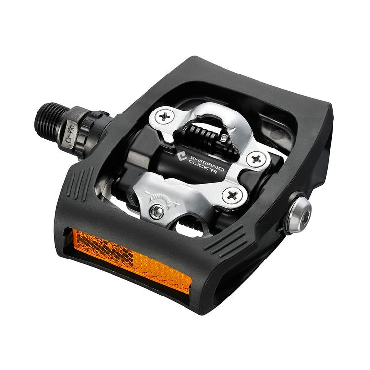 Shimano Pedals PD-T400 CLICK'R pedal, Pop-up mechanism, black