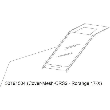 Thule Cross 2 cover 2017- orange