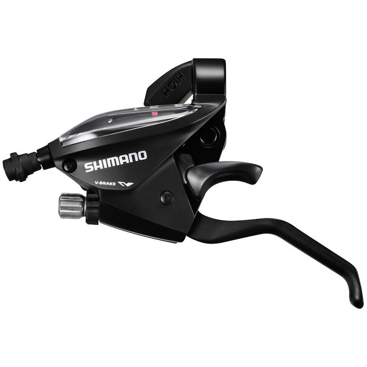 Shimano Altus ST-EF510 EZ fire plus STI set, 2-finger lever, 3 x 7-speed, black