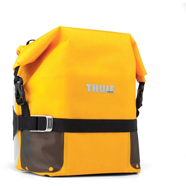 Thule Pack'n Pedal adventure touring pannier small 16 litre yellow