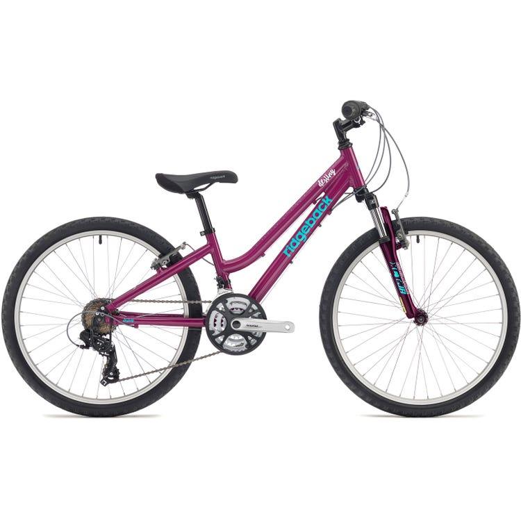 Ridgeback Destiny 24 inch bike wheel purple